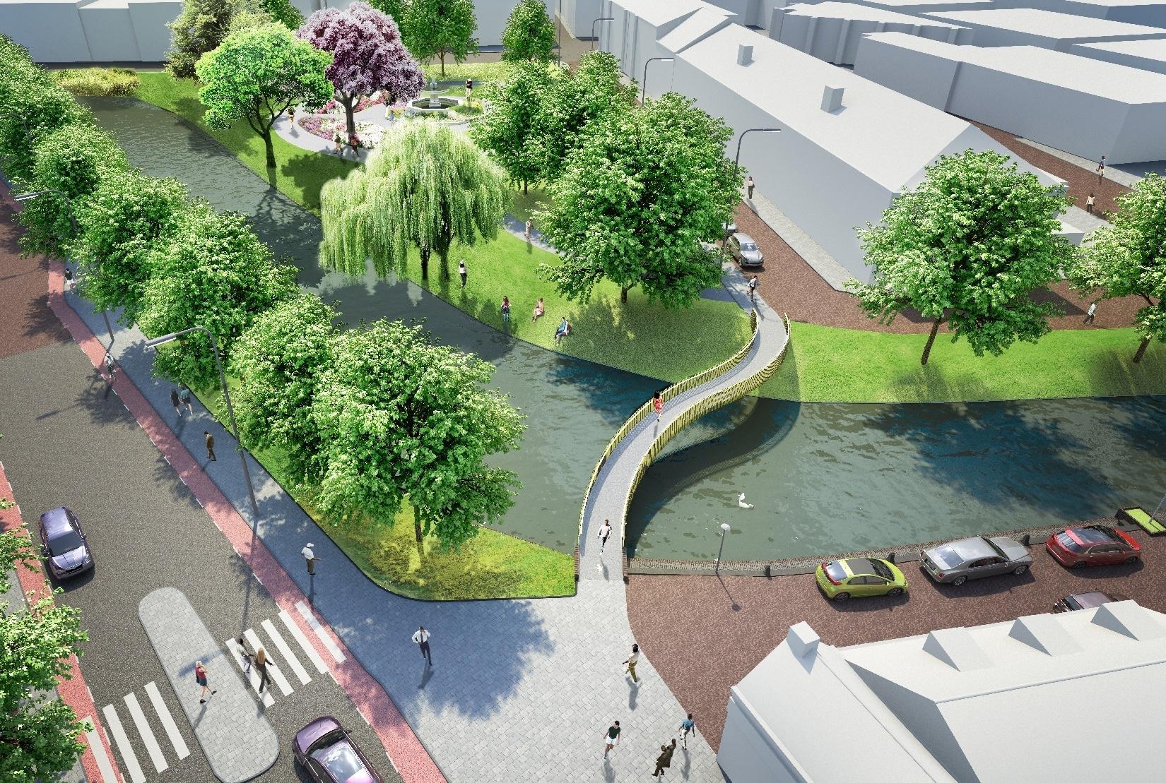 Ontwerp Wurck - Haasnoot Bruggen voor de gemeente Tiel