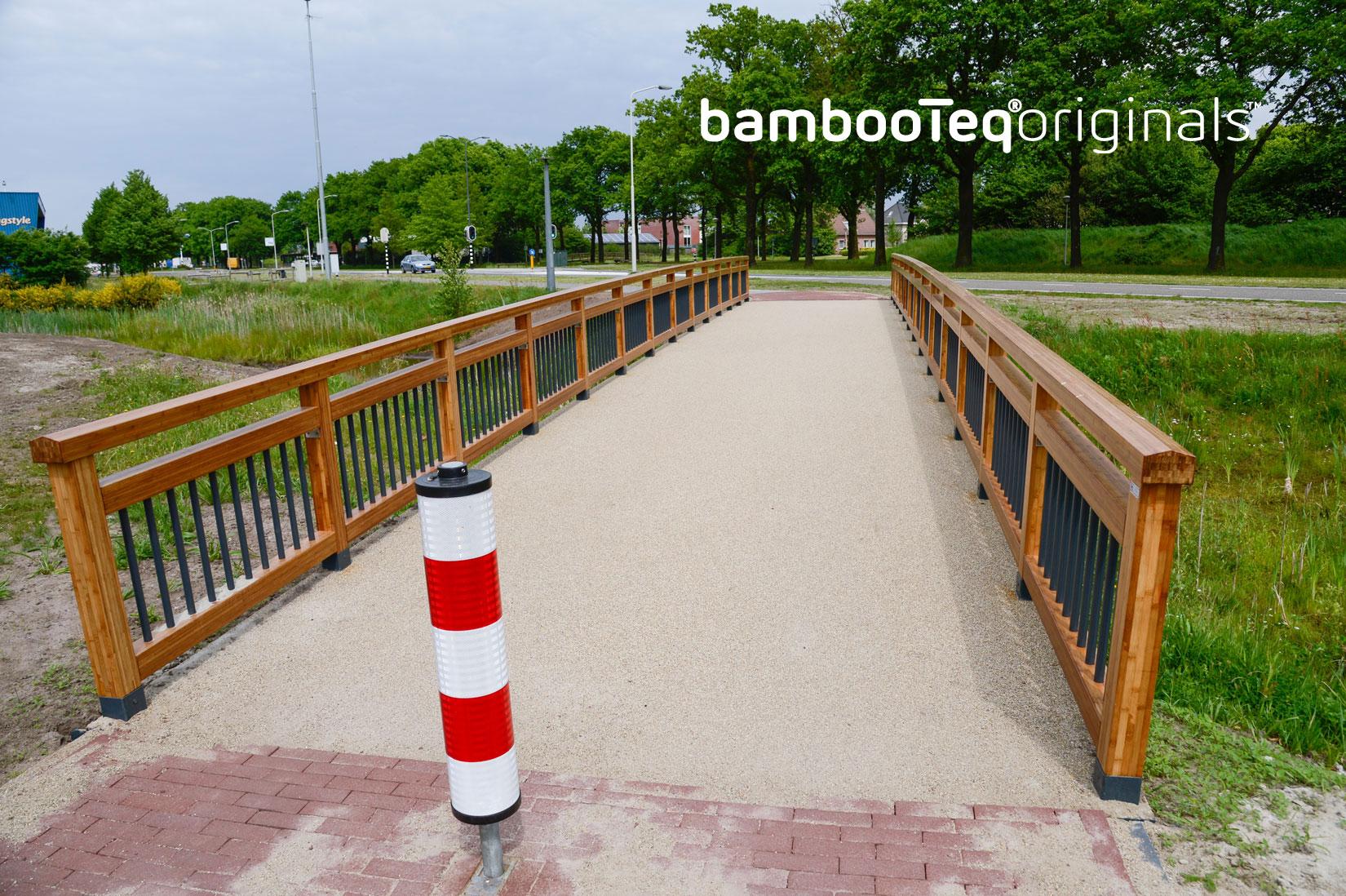Bamboe leuning van Haasnoot Bruggen.