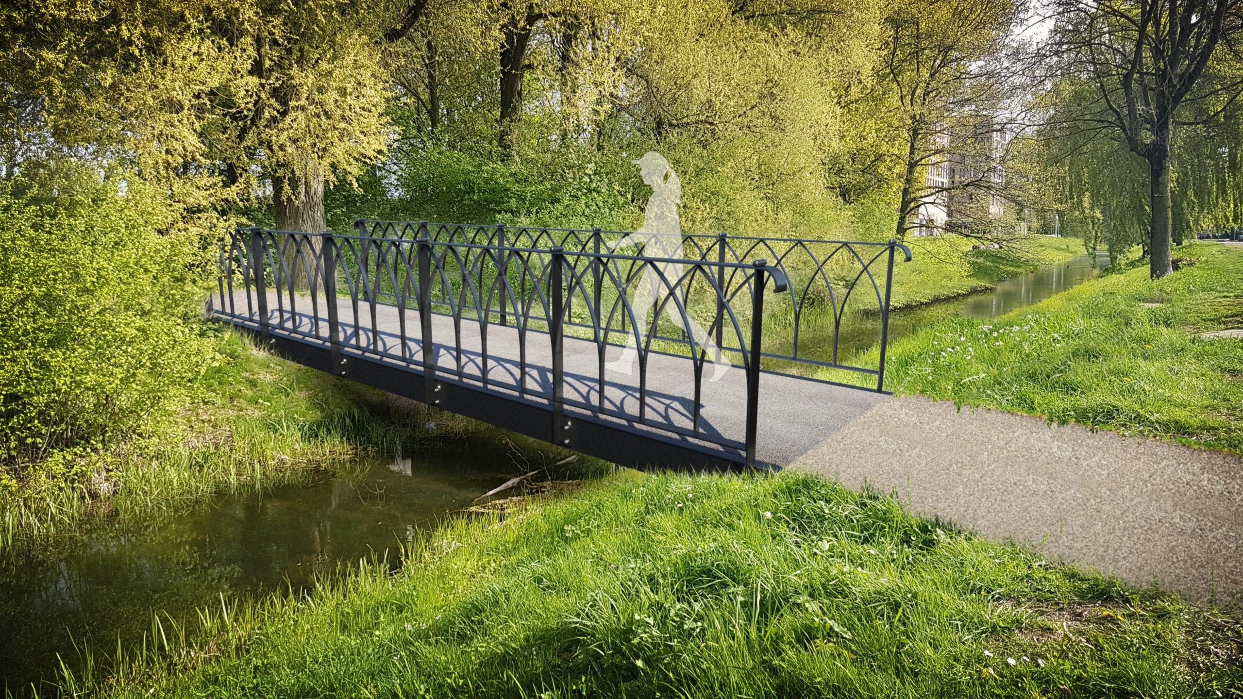 Nieuw ontwerp voor bruggen Voorschoten door de creatieve studio van Haasnoot Bruggen.