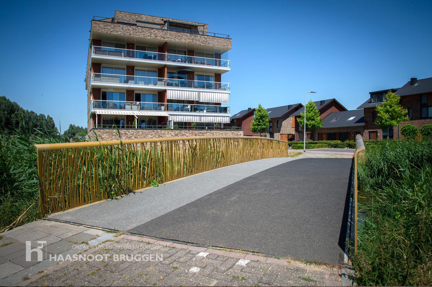 Alphen-ad-rijn bijzonder leuning nieuwe brug Haasnoot Bruggen