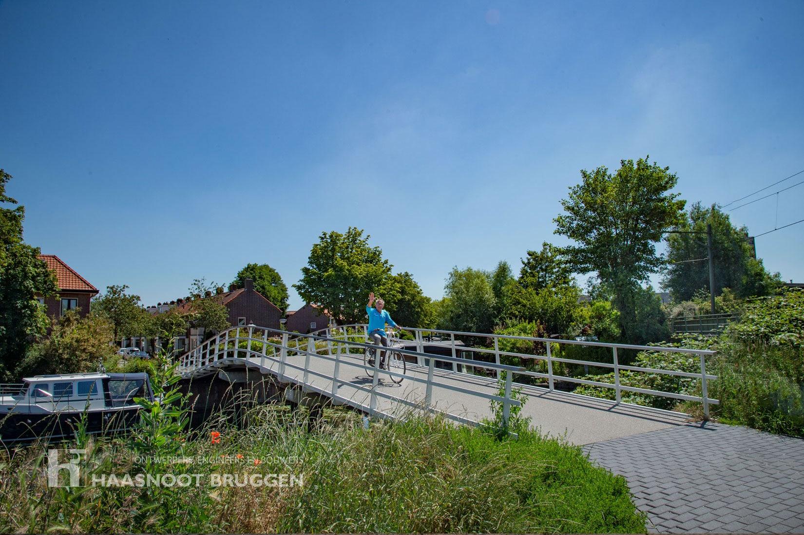 Groene Deputatenbrug Leiden door Haasnoot Bruggen