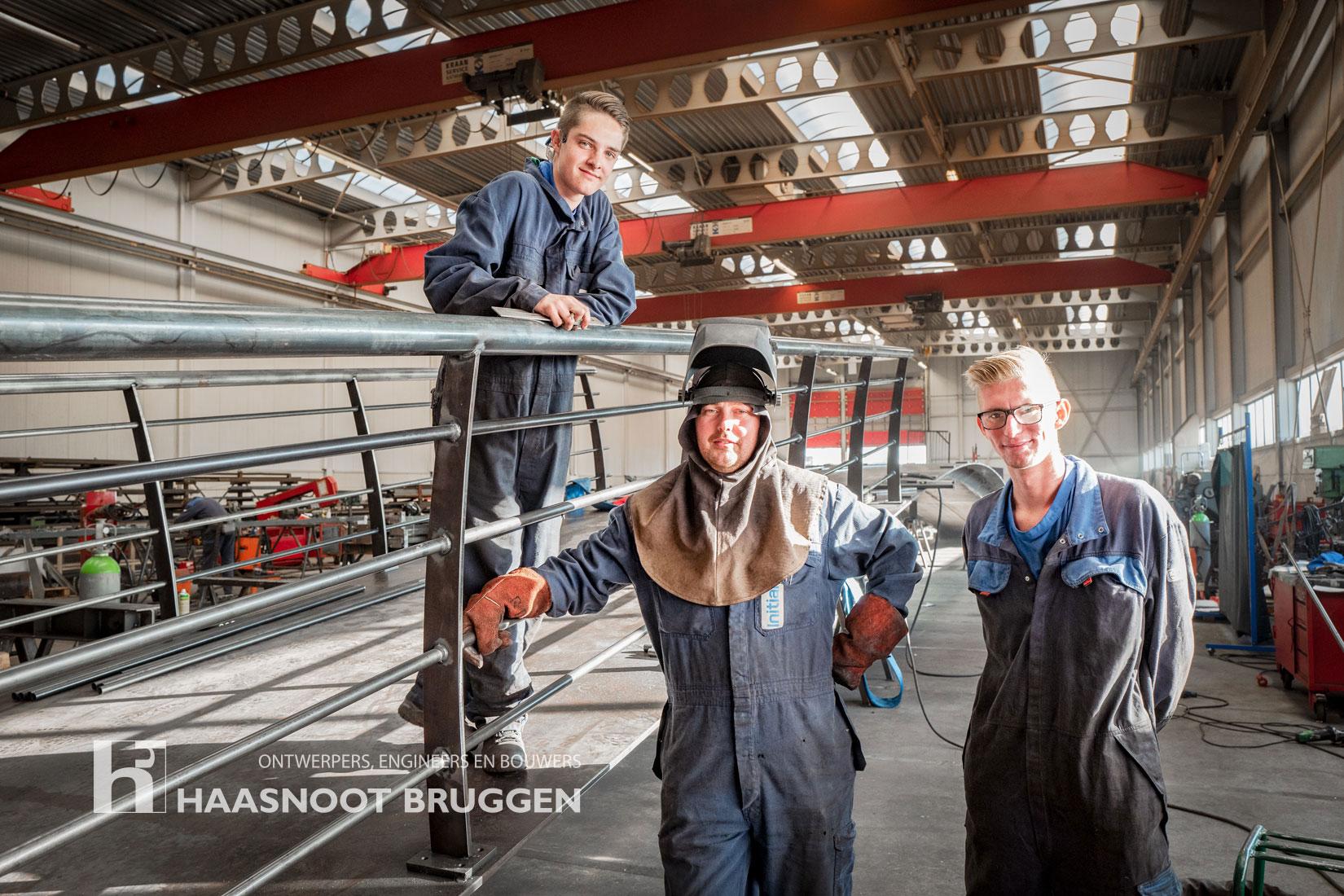 Staal productie Haasnoot Bruggen