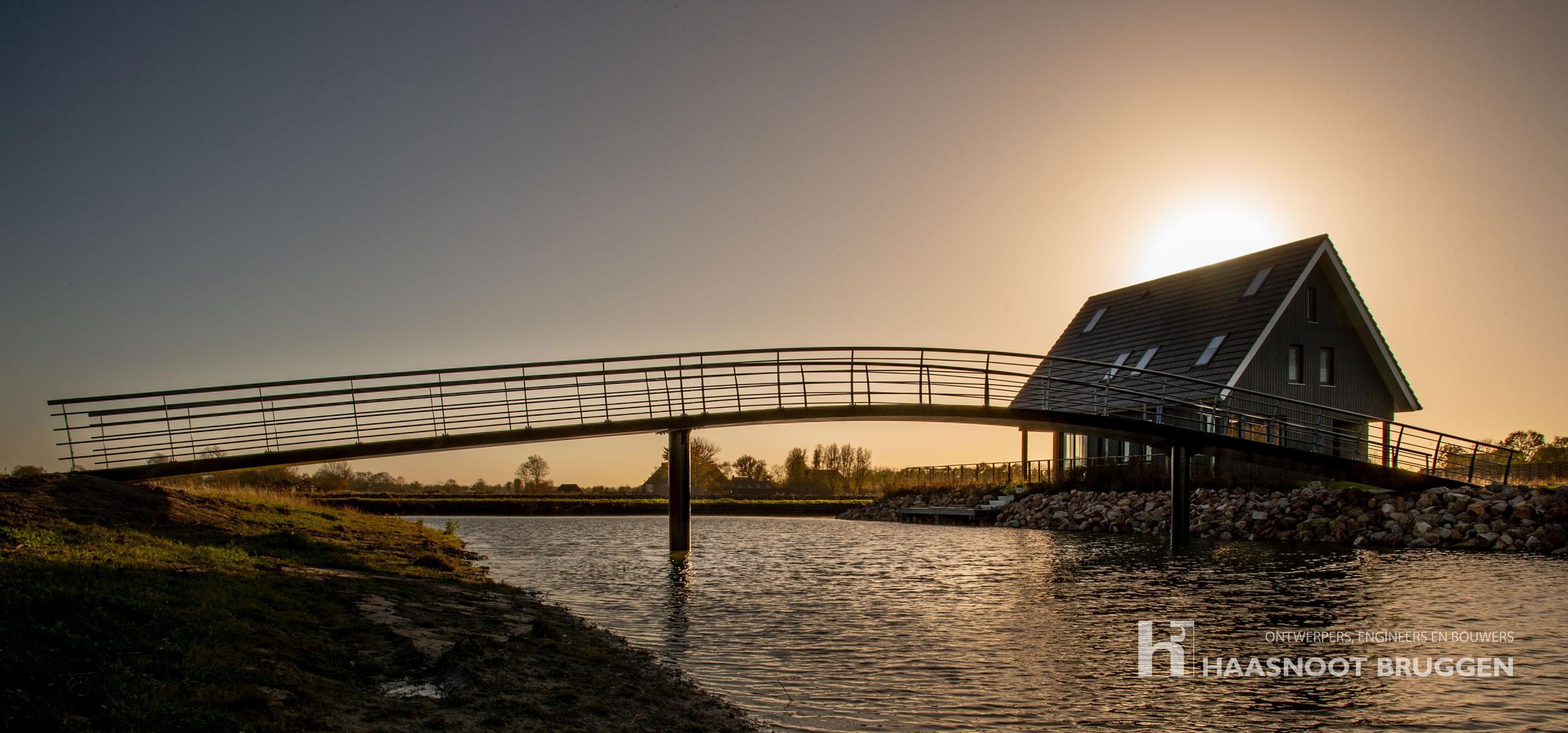 Fraaie bruggen in Friesland