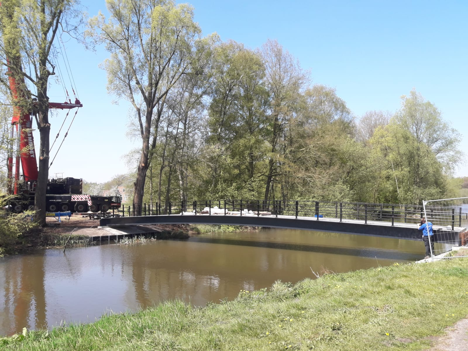 Landgoed De Klokkenberg, Bred. Haasnoot Bruggen