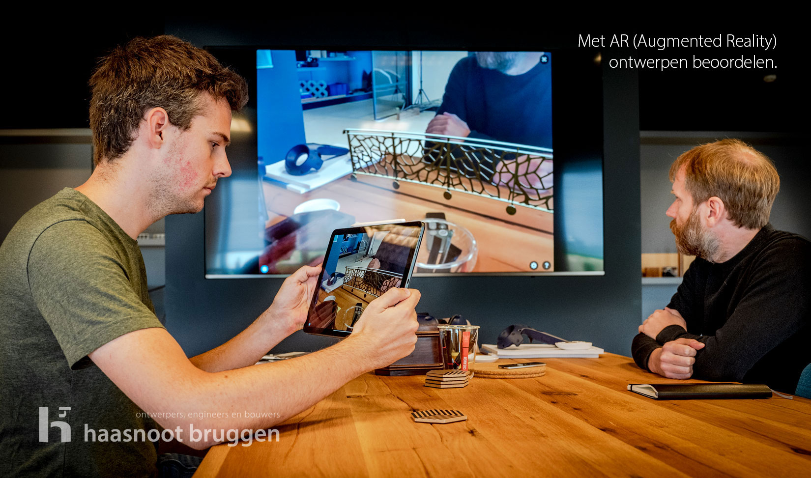 Augmented Reality in bruggenbouw